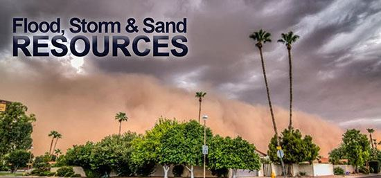 Flood, Storm and Sand Resources