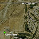 Aerial view of Cave Creek Transfer Station