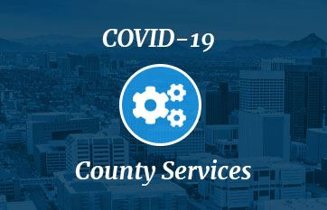 COVID-19 and impacted county services